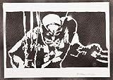Wolverine X-Men Poster Plakat Handmade Graffiti Street Art - Artwork