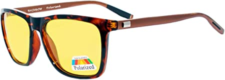 Rainbow Safety Auto Brille Nachtsichtbrille Nachtfahrbrille Kontrastbrille Polarisierte Gläser Rwnp2 Turtle Sport Freizeit