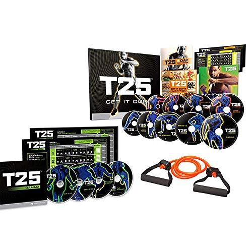 ZONEV Shaun T DVD Videos,25 Minutes Workouts Fitnes Program