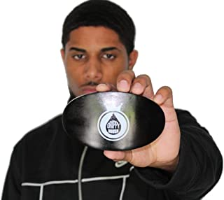 Drippy Rags Wave Brush | Soft Curve Wave Brush | 360 540 720 Waves great with Durags (Black)