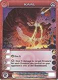 Chaotic KAAL Ultra Rare FOIL Creature-Past Underworld Conqueror Card # S09/026 (Random Stats)