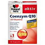 Double Heart Coenzyme Q10 + Vitamin B, 30 Capsules from Queisser Pharma GmbH & Co. KG
