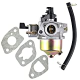 Hilom Carburetor Carb Gasket fit for Honda HR194 HR214 HRA214 HR215 HR216 Lawn Mower GXV120 GXV140 GXV160 Lawnmower Motor Engine Replace 16100-ZE6-W01