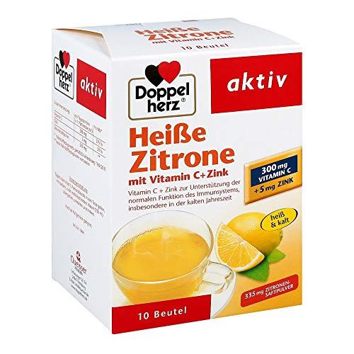 Doppelherz Hei�e Zitrone mit Vitamin C + Zink, 10 St