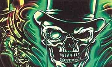 U24 vlag piraat doodskop Gentleman 90 x 150 cm