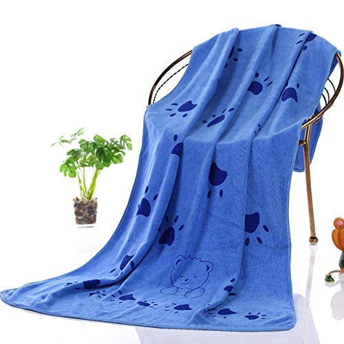 Serviette ultra absorbante pour animal de compagnie, nettoyage doux, absorbante, séchage rapide, compacte et légère, 140 x 70 cm