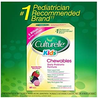 Culturelle Kids Chewables 益生菌,60 片