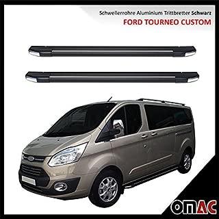 schweller tubi Pedane in Alluminio Nero Ford Tourneo Custom Langer omberg