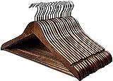 HOUSE DAY Lot de 20 Cintres en Bois Crochet Rotatif Classique...