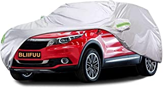 BLIIFUU Car Cover,SUV Protection Cover Breathable Outdoor Indoor for All Season All Weather Waterproof/Windproof/Dustproo...
