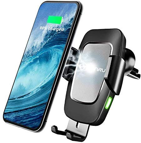 SONRU Newest Wireless Car Charger, Touch Sensor Automatic...