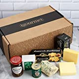 GOURMET GIFT BOX FROM IRELAND - This Gourmet Gift Basket Includes Ireland's Highest Quality Ingredients From Some of Their Finest Producers, Artisans and Craftsmen. IRISH LUXURY GIFT BOX - Ireland's finest cheeses paired with gourmet Follain Irish Ja...