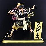 Holiny One Piece Anime Monkey D Luffy Kimono Kabuki Edition PVC Figuras De Acción Colección Modelo J...