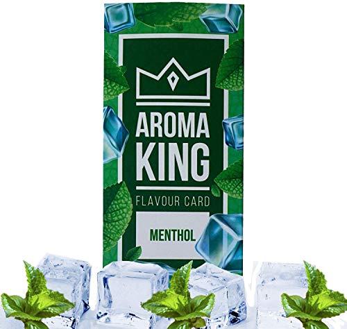 AROMA KING 25 Aromakarten mit MENTHOL Geschmack   Aromatische Karten für Zigaretten in verschiedenen Geschmack Sorten   Flavour rauchen   Schachteln