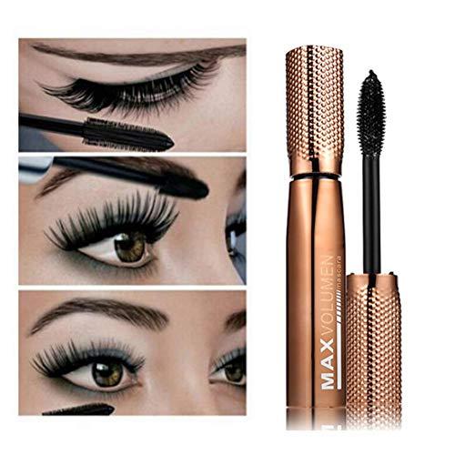 Symeas 3D Mascara Crème cils fins et résistants, résistant aux taches et aux taches, résistant aux taches