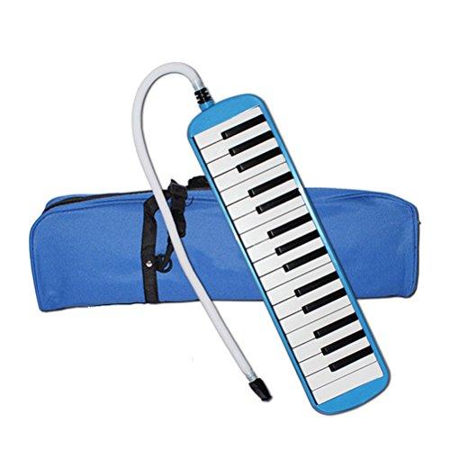rosenice Melódica 32teclas diamonica armónica de boca con funda azul