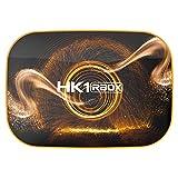 Timagebreze HK1 RBOX Caja de TV Inteligente Android 10 4GB + 32GB RK3318 1080P WiFi 4K Reproductor Store Netflix Youtube Set Top Box Enchufe de la EU