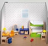 Puppenmöbel Kinderzimmer (28-teilig)