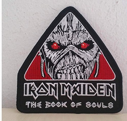 Patch Iron Maiden Rock Band Parche termoadhesivo