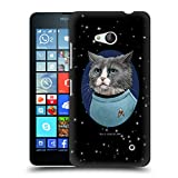 Head Case Designs Oficial Star Trek Doctor Mccoy Gatos Tos Carcasa rígida Compatible con Microsoft Lumia 640 / Dual SIM