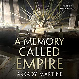 A Memory Called Empire     Teixcalaan, Book 1              Written by:                                                                                                                                 Arkady Martine                               Narrated by:                                                                                                                                 Amy Landon                      Length: 15 hrs and 37 mins     1 rating     Overall 5.0