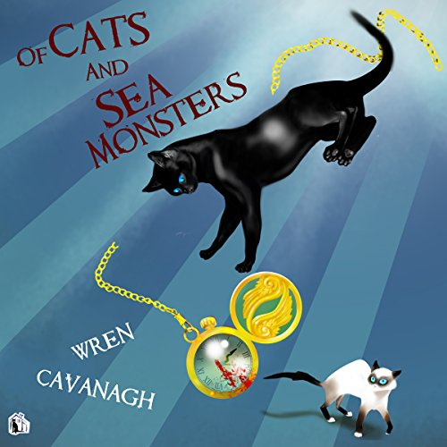 Of Cats and Sea Monsters audiobook cover art