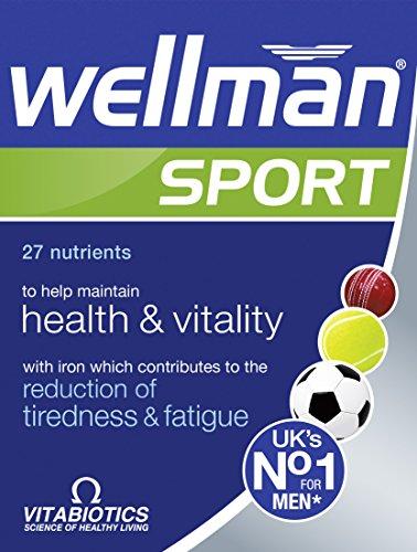 Vitabiotics Wellman Sport, 30 Tablets