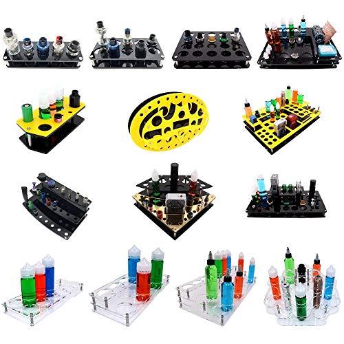 Vape Station, Display Acryl, Holder, Halterung, Tisch, Ständer Verdampfer, Atomizer (Display-9)