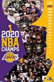 Trends International Los Angeles Lakers-2020 NBA Finals Celebration Wall Poster, 22.375' x 34', Unframed Version