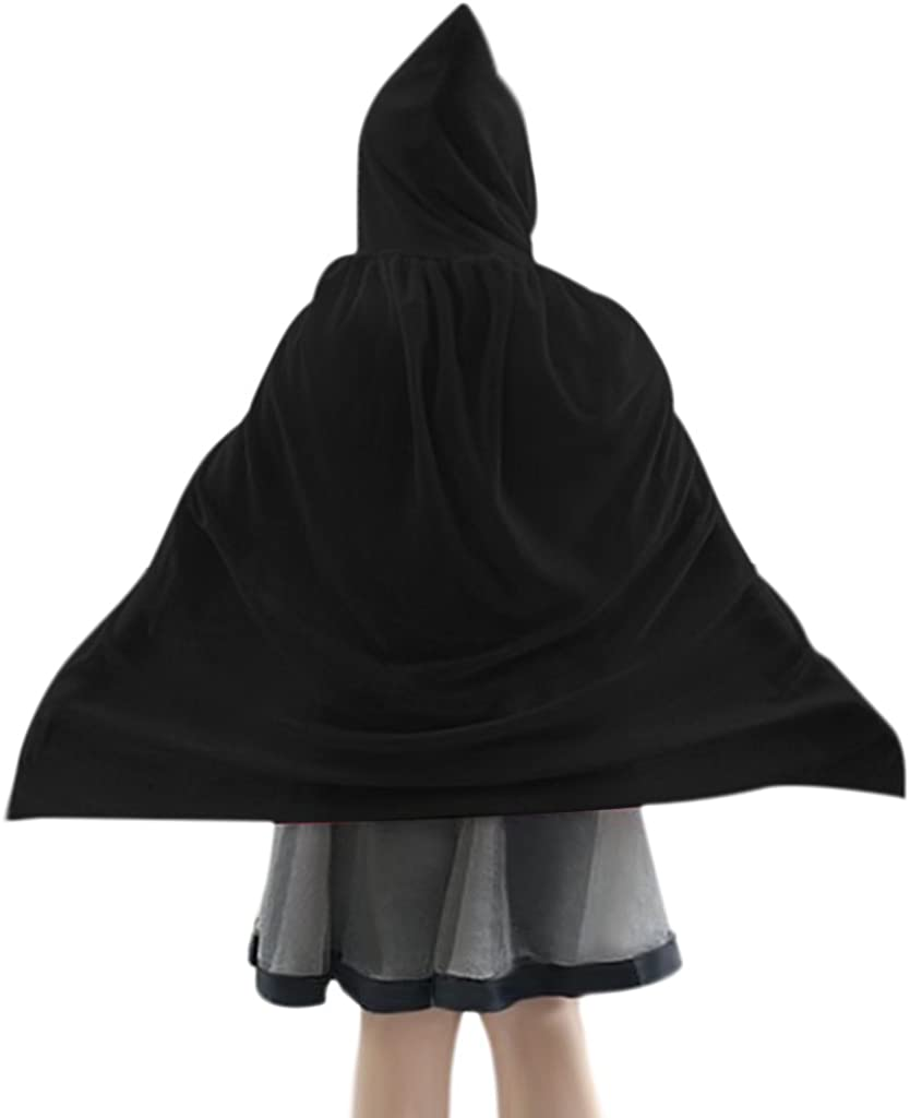 Kids Flannelette Hooded Credence Cloak Xmas Witch Halloween 70% OFF Outlet Vampire Cape