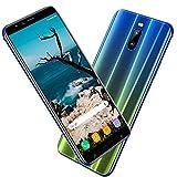 Smartphone Pas Cher 4G 6.0 Pouces, 3Go RAM 16Go ROM 8MP Caméra 4800mAh Android 8.1 Téléphone Portable Débloqué (2 Micro...