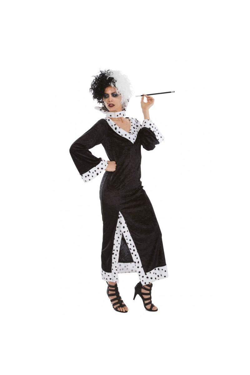 Chaks - C4173L - Disfraz para adulto de Cruella de Vil (10 ...