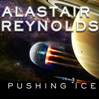 Pushing Ice audiobook cover art