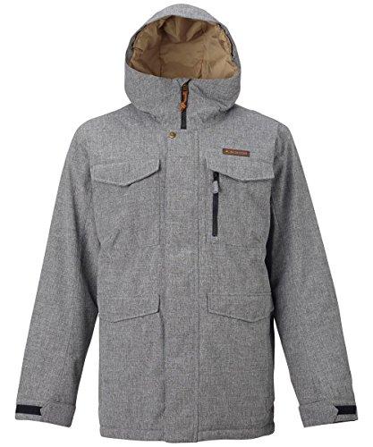 Burton Herren Snowboardjacke Covert Jacket, Bog Heather, S