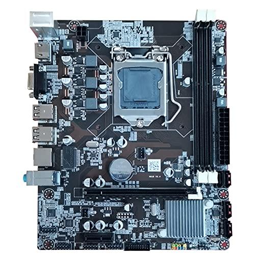 MPGIO Placa Base H81 LGA 1150 Kit con procesador Intel Xeoni5 4590 CPU 8GB DDR3 RAM Placas Base de computadora
