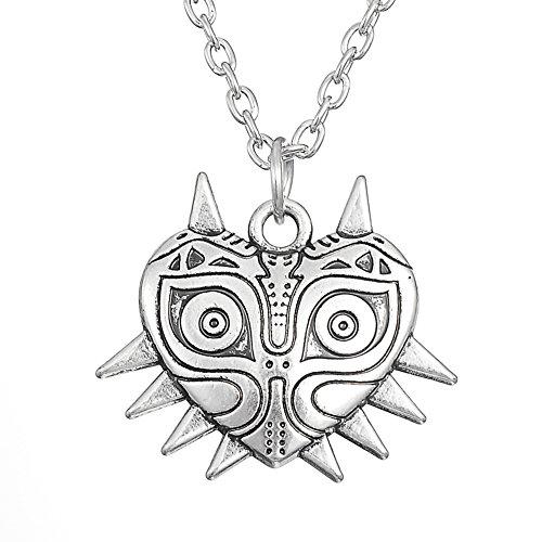 Maiora 's Mask The Legend Of Zelda Anhänger Retro Halskette Frauen Schmuck by My Form