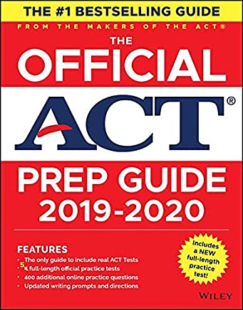 The Official ACT Prep Guide, (Book + Bonus Online Content)