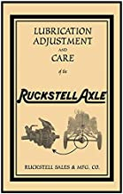 ruckstell axle model t