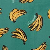 Grünes Wachstuch mit Bananen von Cosmo