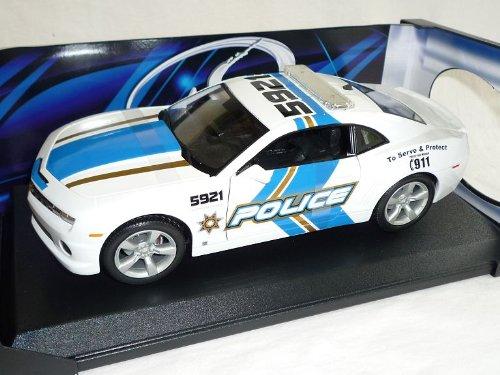 Maisto Chevy Chevrolet Camaro 2010 Ss RS Police Polizei 1/18 Modellauto Modell Auto