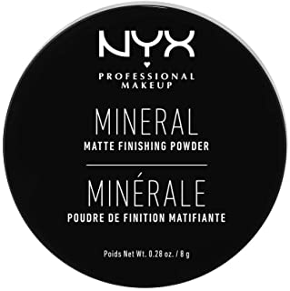 NYX Professional Makeup Mineral Finishing Powder, Light/Medium 01 MFP01
