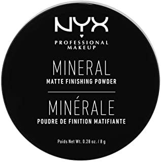 NYX PROFESSIONAL MAKEUP Mineral Finishing Powder, Light/Medium 01, 0.28 ounce