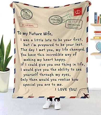 Sophia - Funny online shopping to My Future for Xmas Blanket Birthday Wife shopping