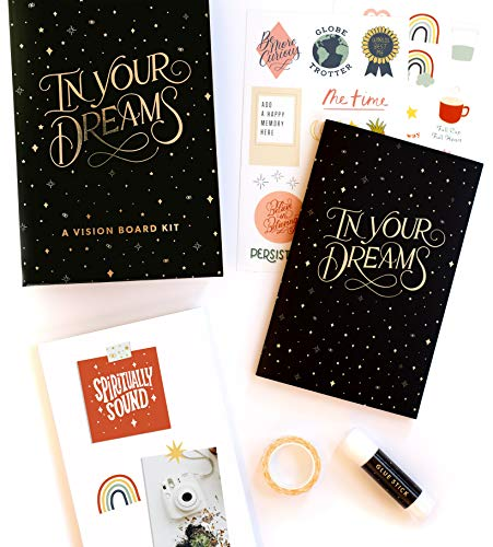 In Your Dreams: A Vision Board Kit to Visualize Your Ambitions and Plan Your Goals