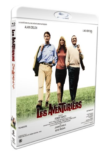 冒険者たち [Blu-ray] - アラン・ドロン, リノ・ヴァンチュラ, ジョアンナ・シムカス, セルジュ・レジアニ, ロベール・アンリコ