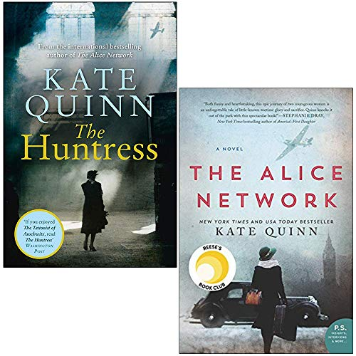 Kate Quinn Collection 2 Books Set (The Huntress, The Alice Network)