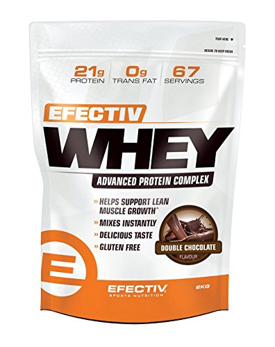 Efectiv Whey Double Chocolate 2KG