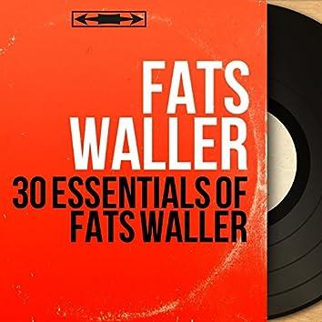 30 Essentials of Fats Waller (Mono Version)