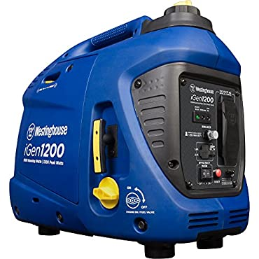 Westinghouse iGen1200 1,200/1,000-Watt Gasoline Powered Portable Inverter Generator