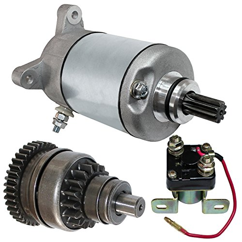 Caltric Starter Drive & Relay Solenoid Compatible With Polaris Sportsman 500 1996-2002